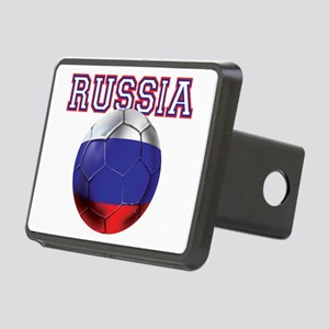 Russian Football Rectangular Hitch Cover