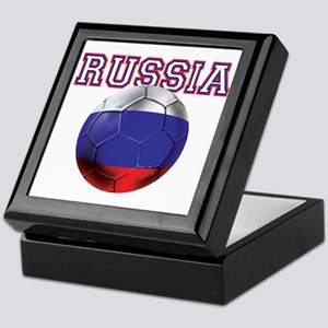 Russian Football Keepsake Box