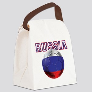 Russian Football Canvas Lunch Bag