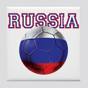 Russian Football Tile Coaster