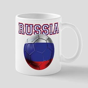 Russian Football Mug