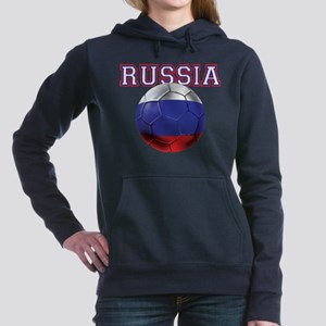 Russian Football Women's Hooded Sweatshirt