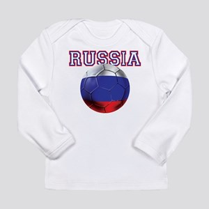 Russian Football Long Sleeve Infant T-Shirt