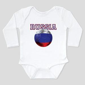 Russian Football Long Sleeve Infant Bodysuit