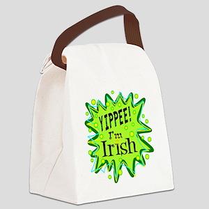 Yippee I'm Irish Canvas Lunch Bag