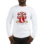 Pariseau Family Crest Long Sleeve T-Shirt