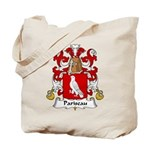 Pariseau Family Crest Tote Bag