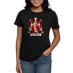 Pariseau Family Crest Women's Dark T-Shirt