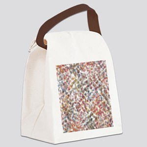 Decorative Abstract Blots in Mute Canvas Lunch Bag