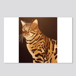 Bengal Kitty Postcards (Package of 8)