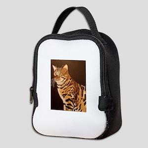 Bengal Kitty Neoprene Lunch Bag