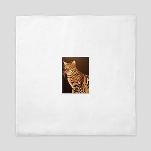 Bengal Kitty Queen Duvet