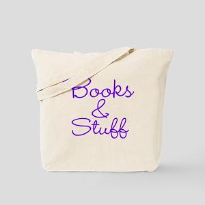 Books Stuff Tote Bag