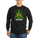 Paillet Family Crest Long Sleeve Dark T-Shirt