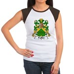 Paillet Family Crest Women's Cap Sleeve T-Shirt