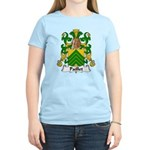Paillet Family Crest Women's Light T-Shirt