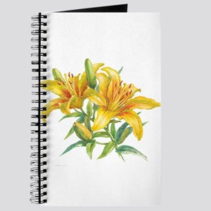 Yellow Daylilies Journal