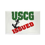 USCG Issued Rectangle Magnet