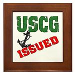 USCG Issued Framed Tile