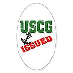 USCG Issued Oval Sticker