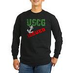 USCG Issued Long Sleeve Dark T-Shirt