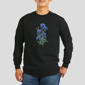 Blue Bonnets Long Sleeve Dark T-Shirt