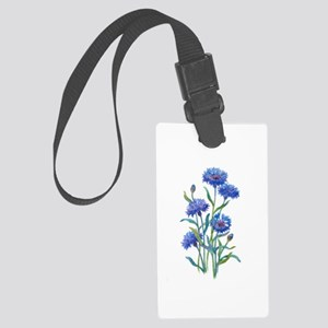 Blue Bonnets Large Luggage Tag