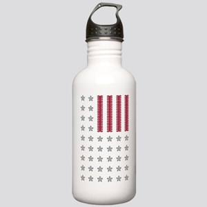 Diamond Stars and Ruby Stainless Water Bottle 1.0L