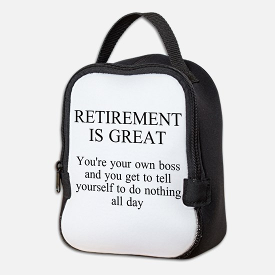 Retirement Neoprene Lunch Bag