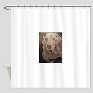 Weimeraner Shower Curtain