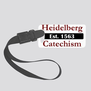 Heidelberg Catechism 1563 Small Luggage Tag