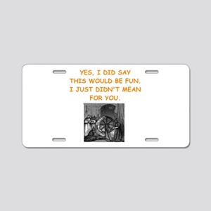 dungeon master Aluminum License Plate