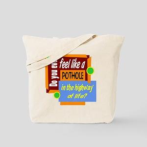 Pothole Tote Bag