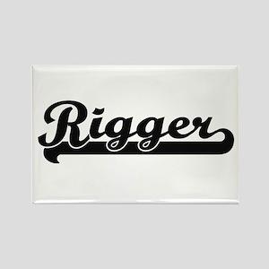Rigger Artistic Job Design Magnets
