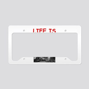 dungeon master License Plate Holder