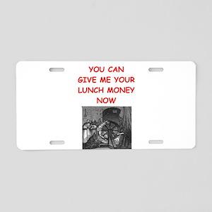 dungeon master Aluminum License Plate