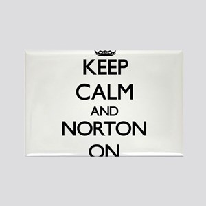 Keep Calm and Norton ON Magnets