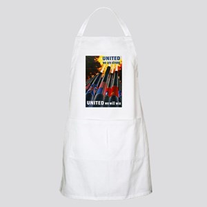 United We Win BBQ Apron