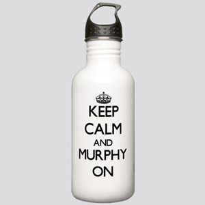 Keep Calm and Murphy O Stainless Water Bottle 1.0L