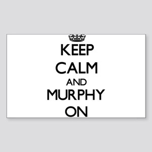 Keep Calm and Murphy ON Sticker
