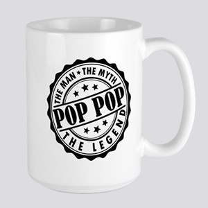 Pop Pop - The Man, The Myth, The Legend Mugs