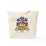 Olive Family Crest Tote Bag