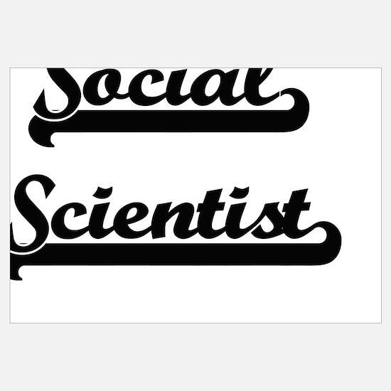 Cute Social science course Wall Art