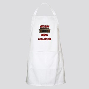 Vintage Radio Collector BBQ Apron