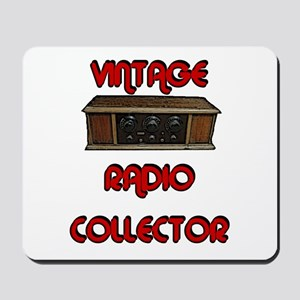 Vintage Radio Collector Mousepad