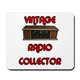 Antique radio Mouse Pads
