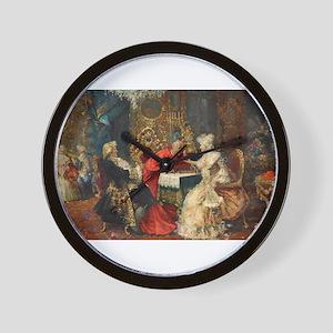 chess in art Wall Clock