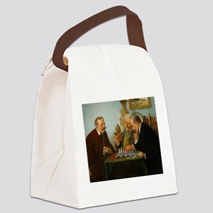 chess in art Canvas Lunch Bag