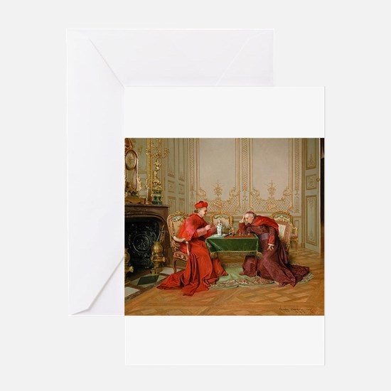 chess in art Greeting Cards