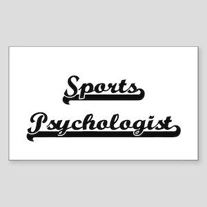 Sports Psychologist Artistic Job Design Sticker